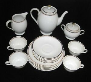hertel jacob porzellan bavaria 19 piece coffee set ebay