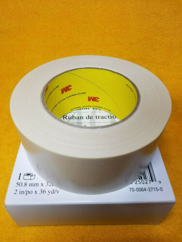 """1 roll NEW 3M 5401 TRACTION TAPE 2/"""" WIDTH 36 yd LENGTH TAN"""