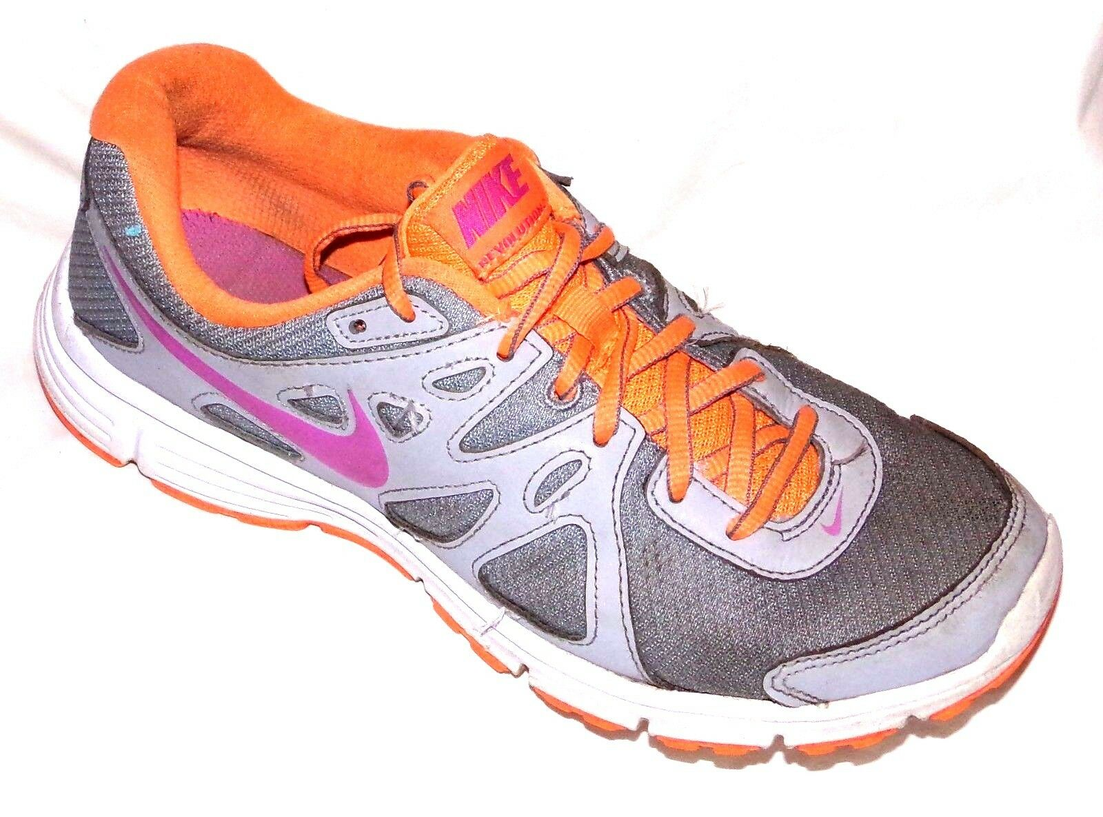 NIKE WOMENS REVOLUTION 2 RUNNING TRAINING WORKOUT SHOES SIZE-8 Casual wild