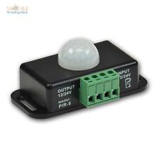 Bewegungsmelder 12V / 24V, 8m PIR 60°, Bewegungmelder Sensor Sensorschalter IR
