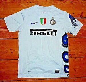 Maglia Inter 2007-2008 Internazionale Calcio Materazzi  Zanetti Ibrahimovic