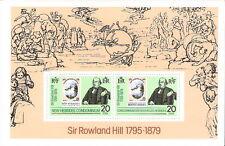 New Hebrides 1979 Sir Roland Hill First Stamp Souvenir Sheet MNH (SC# 266a)