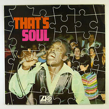 "12"" LP - Various - That's Soul - B4231 - washed & cleaned"