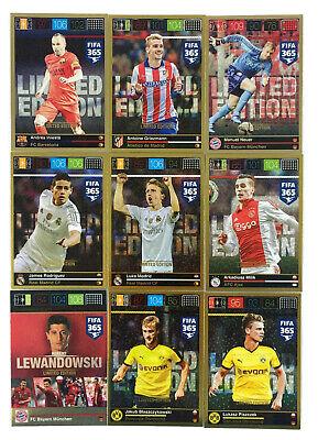Panini Adrenalyn XL Fifa 365 Limited Edition FIFA 2019 Cards choose aussuchen