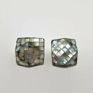 Vintage-Abalone-Chunky-Square-Earrings