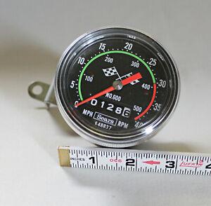 Vintage Sears Bicycle Speedometer/Odometer/Tachometer Original Box Instructions