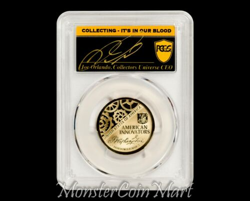 2018-S Reverse Proof Innovation Dollar PCGS PR70 FIRST DAY OF ISSUE POP 20!