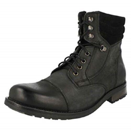 Gorra Hombre Boots Negra Russett Clarks Y7tqn