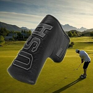 Big-USA-Magnetic-Blade-Putter-Head-Cover-Headcover-Golf-For-Scotty-Cameron-Black