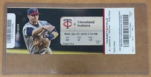 Jose-Berrios-Major-League-Debut-Game-Full-Ticket-Minnesota-Twins-MLB-Puerto-Rico