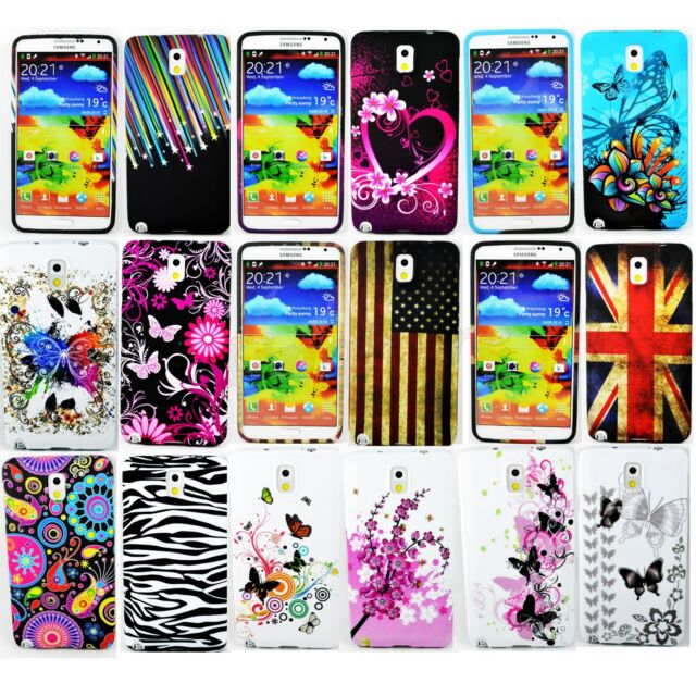 Soft Rubber Silicone Phone Skin Case Cover For Samsung Galaxy Note 3 III N9000