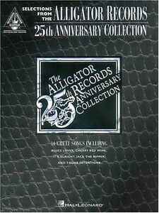 034-THE-ALLIGATOR-RECORDS-034-25TH-ANNIVERSARY-COLLECTION-GUITAR-TAB-MUSIC-BOOK-NEW