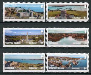 Guernsey-2018-Gomma-integra-non-linguellato-spettacolari-Vedute-sepac-6v-Set-Timbri-Architettura
