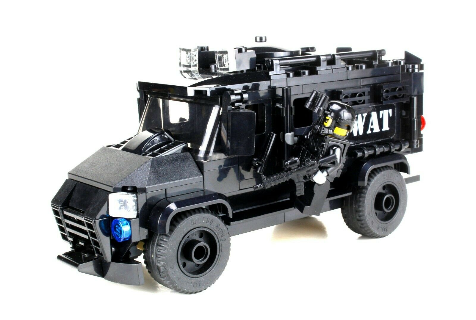 Custom Technical Truck Mercenary Bandit w// minifigure made w// real LEGO® bricks