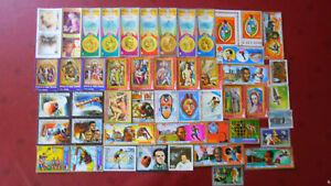 Briefmarken 50 Verschiedene Briefmarken Äquatorial-guinea 3 Äquatorialguinea