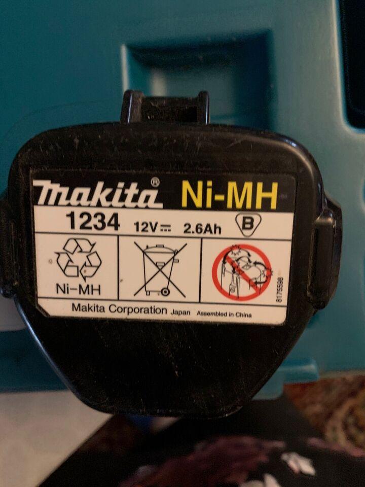 Gipsskruemaskine, Makita