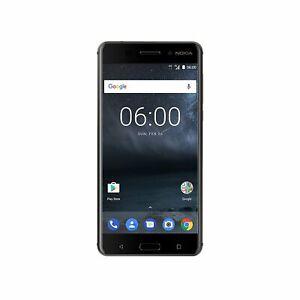 """Nokia 6 Single-SIM matte black 32GB 5,5"""" 16 MP Android 7.0 Neuwertig vom Händler"""