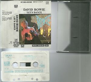 RARE-K7-AUDIO-DAVID-BOWIE-LET-039-S-DANCE-TAPE