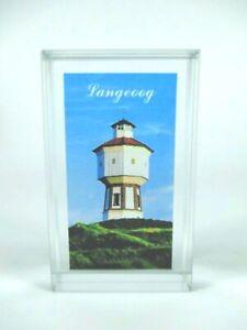 Glasquader-Langeoog-Leuchtturm-in-Gift-Box-Germany-Deutschland-Souvenir-Neu