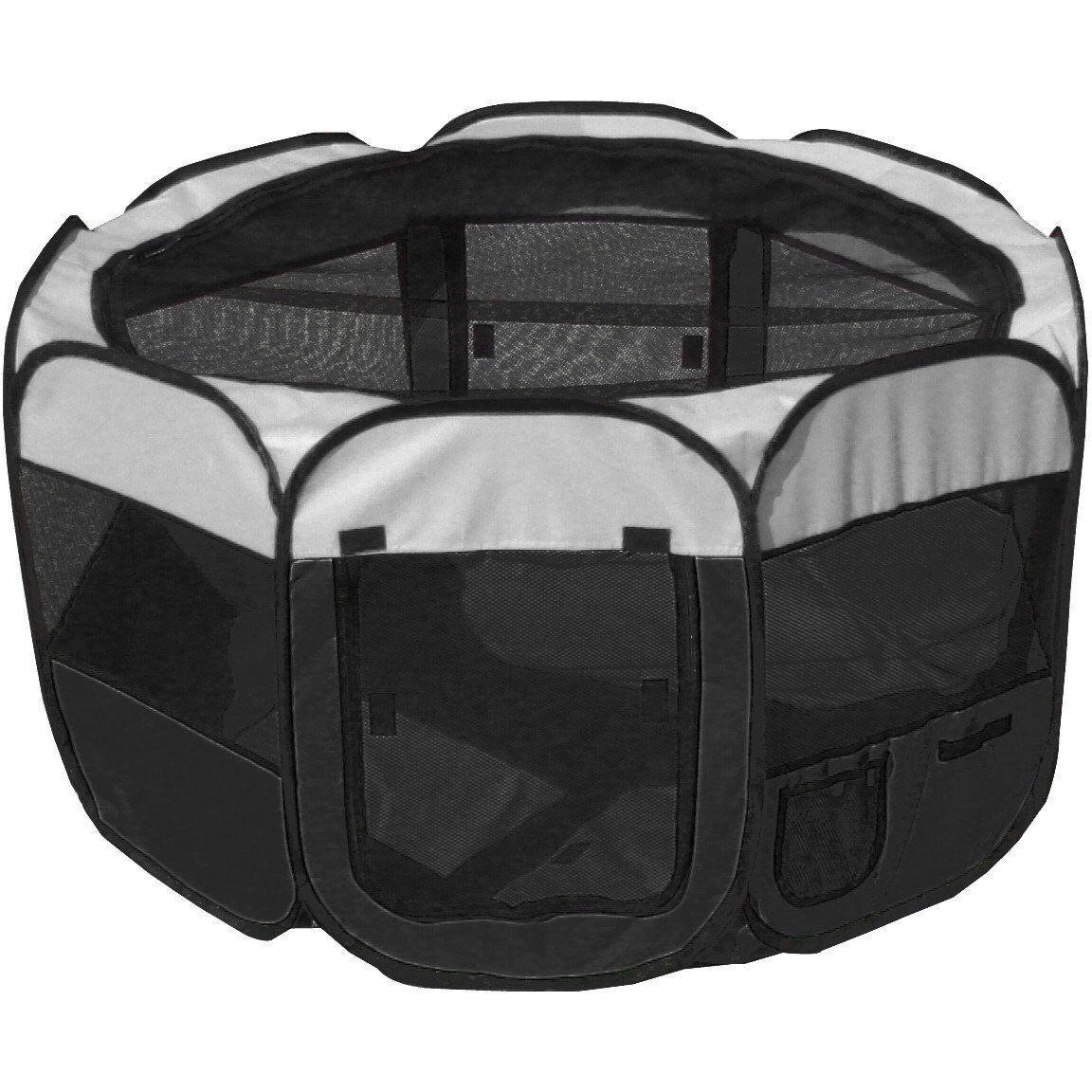 AllTerrain' Lightweight Easy Folding WireFramed Collapsible Travel Pet Playpen