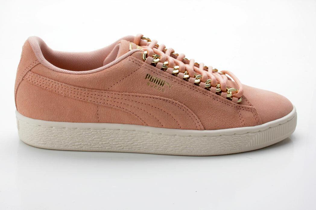 Puma Suede Classic x Chain WN's 367352 01 coral-gold