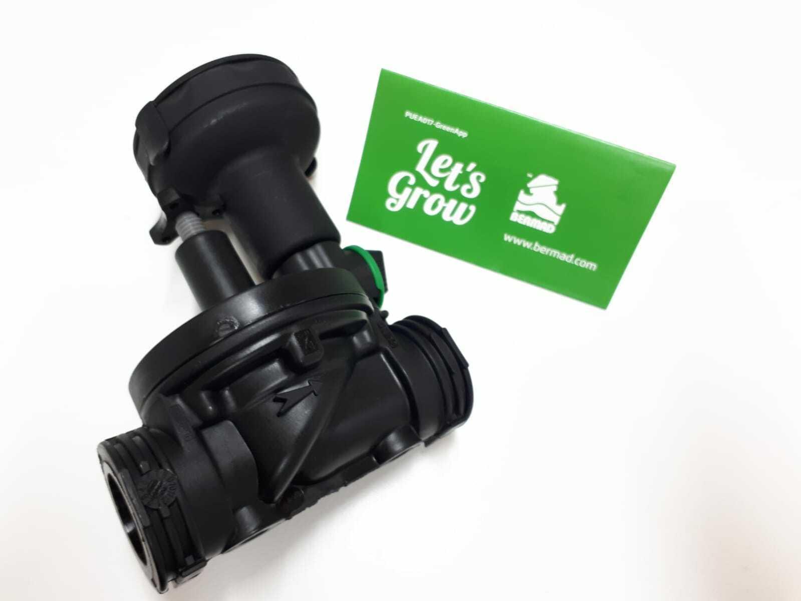 Bermad GreenApp Auto Irrigation Solenoid Controller Valve Bluetooth 3/4