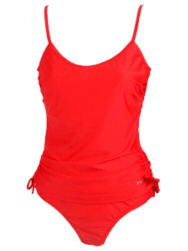 NUOVO Kulu Plain Tankini Swimwear Bikini Top breve Set colore a scelta taglia RRP £ 39