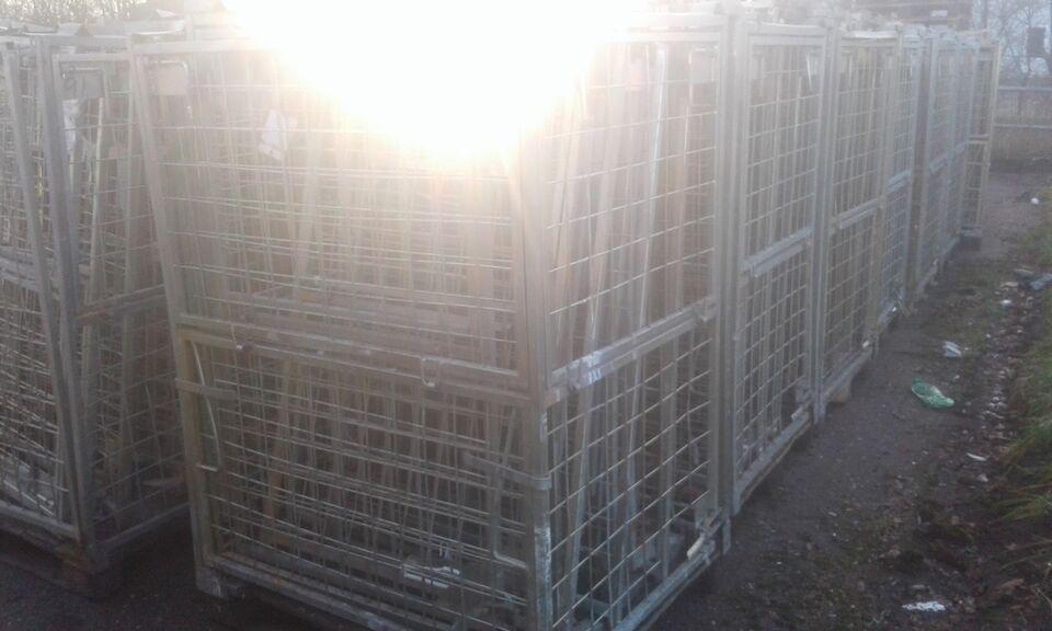 Pallebur 100 x 121 x H 165 - pris/stk