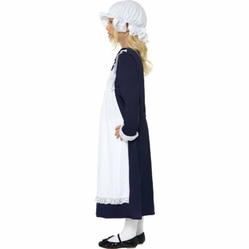 Victorian Poor Girl Costume with Hat