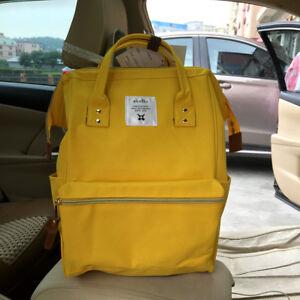 eea917e3641e Japan Anello Big Size Backpack Rucksack Unisex Canvas Quality School ...
