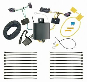 Trailer-Wiring-Harness-Kit-For-17-19-Jeep-Compass-New-Body-Style-Plug-amp-Play