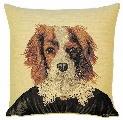 """Le roi Charles Aristodogs 18 /""""Tapisserie Coussin Couverture"""