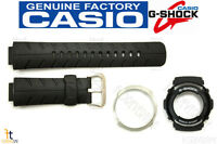 Casio G-300 G-shock Original Black Band & Bezel (outer & Inner Bezel) Combo Kit