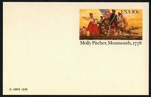 #UX77 10c Molly Jarra, Monmouth, 1778 ,Nuevo Cualquier 5=