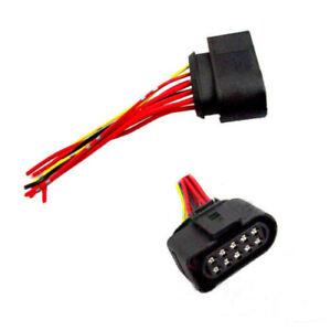 10-pins-Headlight-Assembly-Connector-Plug-Fit-For-VW-Beetle-Jetta-Passat-AUDI