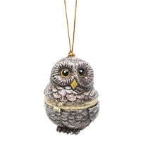 Christmas Tree Ornament Box - Owl on sale
