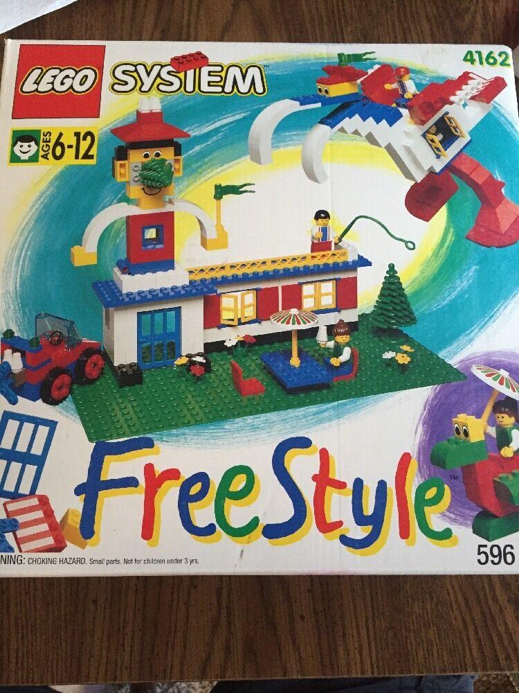 NEW NOS LEGO System Free Style 4162 retraité  1995 Vintage 596 pcs