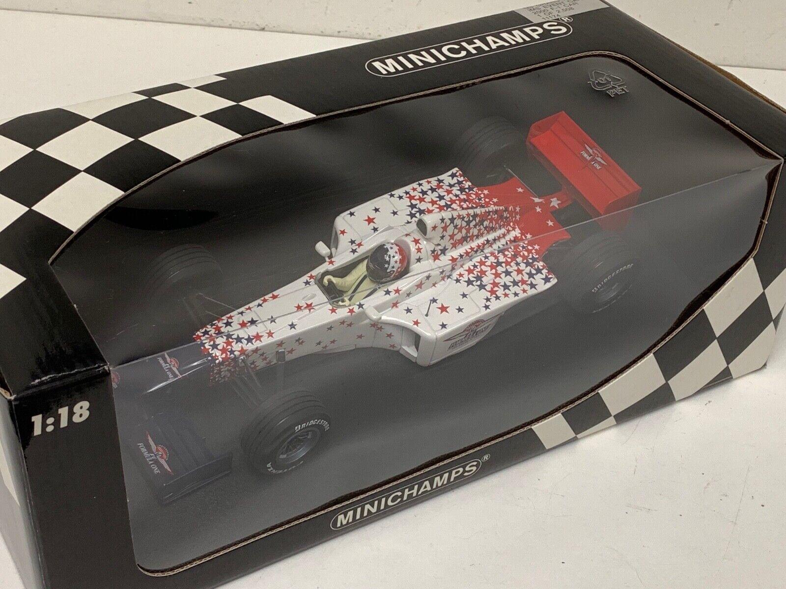 1 18 Minichamps Formula 1 2000 US Grand Prix Event car