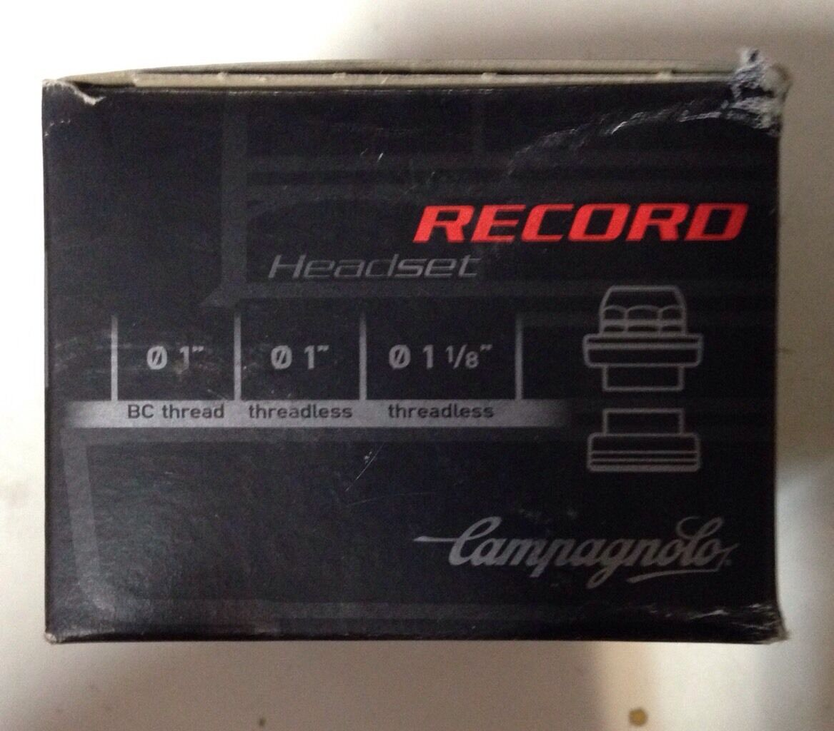 Headset campagnolo record steering series 1-1 8 headset