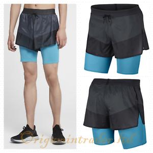 Détails sur Nike Tech Pack homme chemise 1 en 2 shorts de course AQ6442 060 afficher le titre d'origine