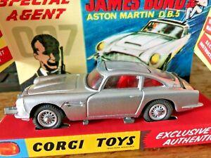 Corgi Toys Aston Martin Db5 James Bond Code 3 Unikat Ebay