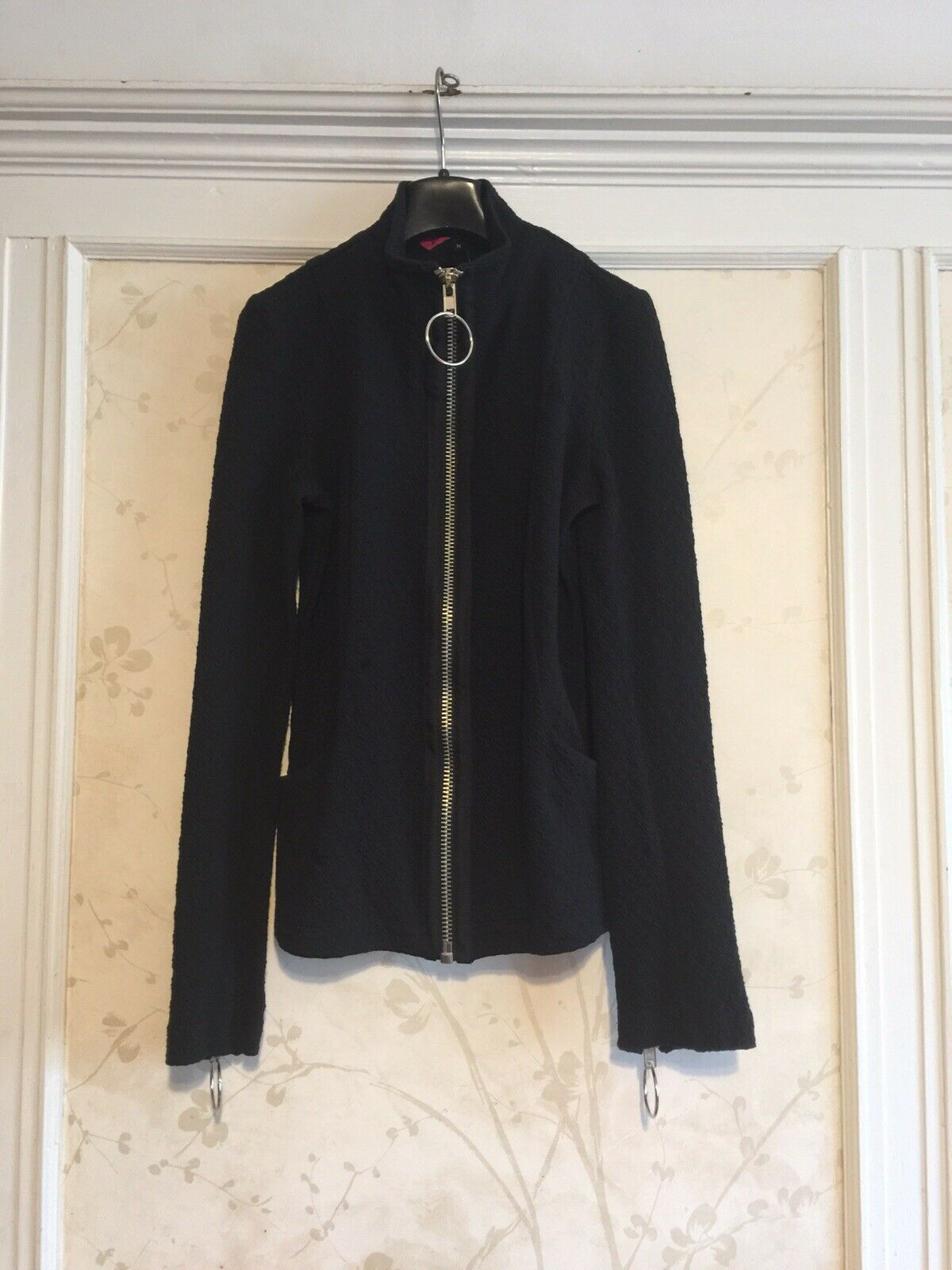 NWT Betsey Johnson Black Jacket M Made In U.S.A.