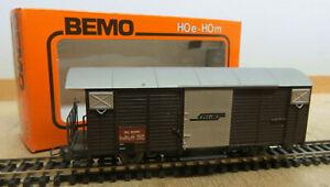 Bemo 2056 Freight Car Rhb Narrow Gauge H0m Like New Original Packaging