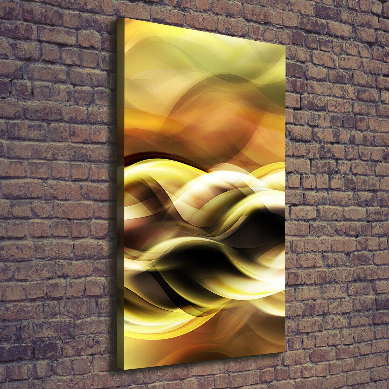 Leinwand-Bild Kunstdruck Hochformat 70x140 Bilder Goldenes Licht