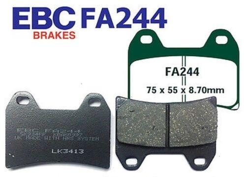 07-09 EBC Bremsbeläge FA244 VORN KTM 690 SM 2 pin pad fixing//spoke wheel