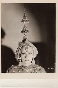 GRETA GARBO : Mata Hari Kunst-Postkarte Bull 1932 Photo by C.S