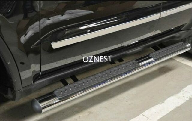 (#885)  4'Oval Stainless Steel Side Step For Jeep Grand Cherokee 2014-2016