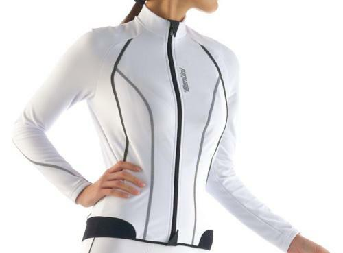 Trikot m / l Frauen aus Radsport Damen Lady Farbe weiß