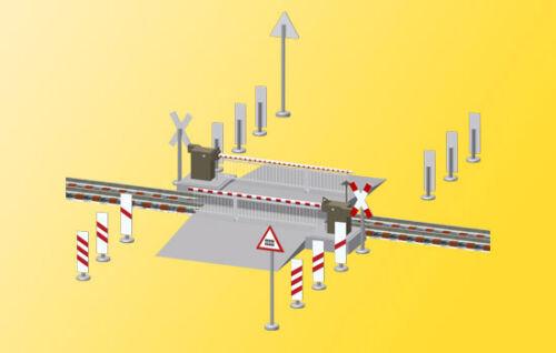 completamente nuovo di fabbrica automaticamente SH Viessmann 5104 ferrovia barriera con tenda