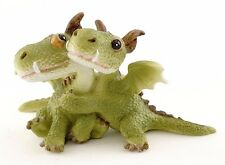 Miniature  Dragons Hugging   4532 Fairy Garden Dargon